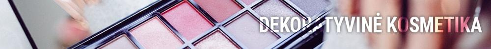 dekoratyvinė kosmetika internetu