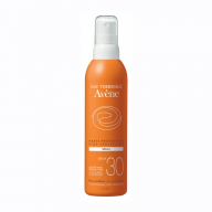 AVENE Sun Care purškiamas kūno kremas nuo saulės spf30 200 ml.
