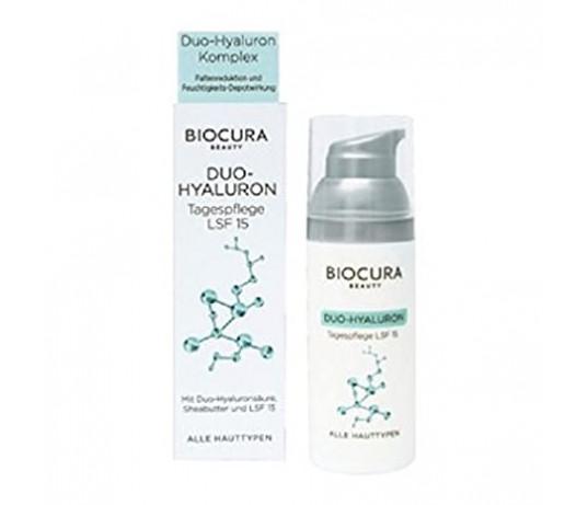 Biocura Duo-Hyaluron veido kremas dienai 50ml.