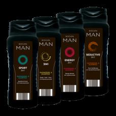 Biocura Man dušo gelis+šampūnas 3in1  300ml.