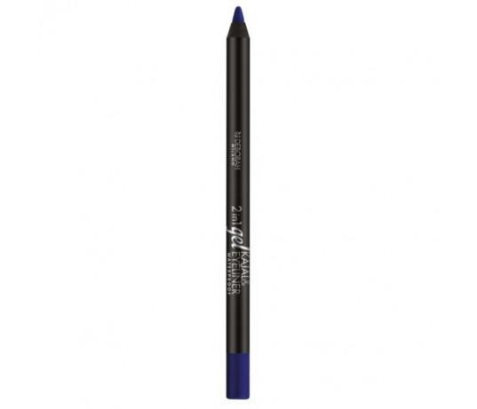 Deborah akių pieštukas 2in1,,Gel Kajal&Eyeliner,, NR.03 , 1.4g