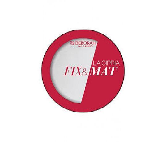 Deborah Fix&Mat kompaktinė pudra 8.5 g.