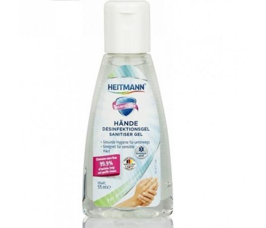 Heitmann Dezinfekcinis rankų gelis 55ml.