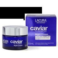 Lacura Caviar Ikrų iliuminacija naktinis  kremas 50ml.