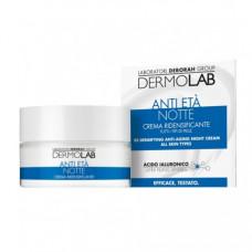 Dermolab Putlinantis naktinis kremas nuo raukšlių,SPF10,visiems odos tipams 50ml.