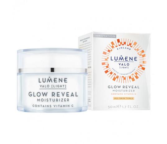 Lumene Valo Glow Reveal Drėkinamasis kremas su Vitaminu C visiems odos tipams 50ml.