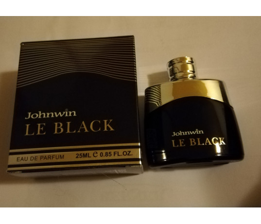 Johnwin LE BLACK EDP 25ml.