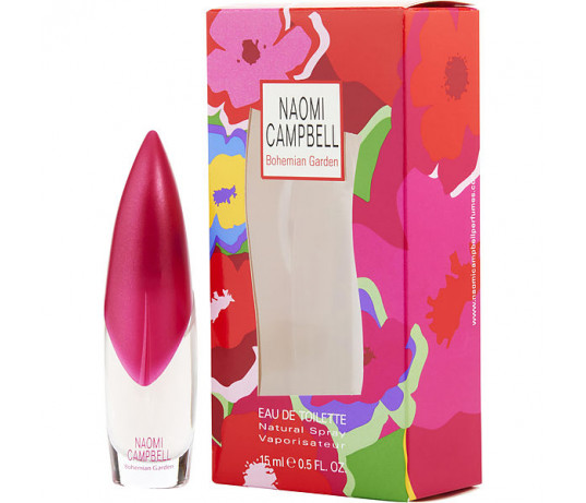 Naomi Campbell Bohemian Garden EDT moterims 15 ml.