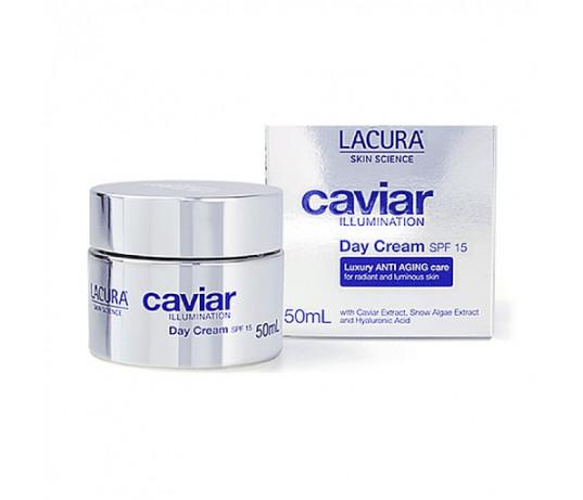 Lacura Caviar Ikrų iliuminacija dieninis kremas  SPF 15  50ml.