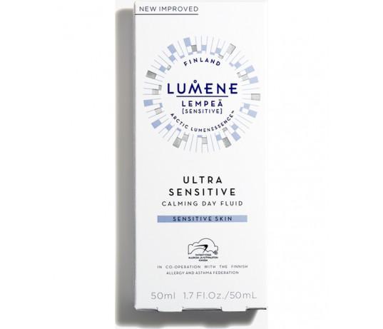 Lumene Ultra Sensitive dieninis veido losjonas 50ml.
