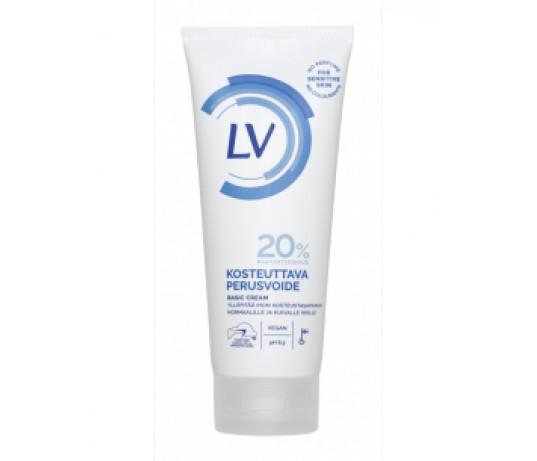 LV drėkinamasis kūno kremas 200 ml.