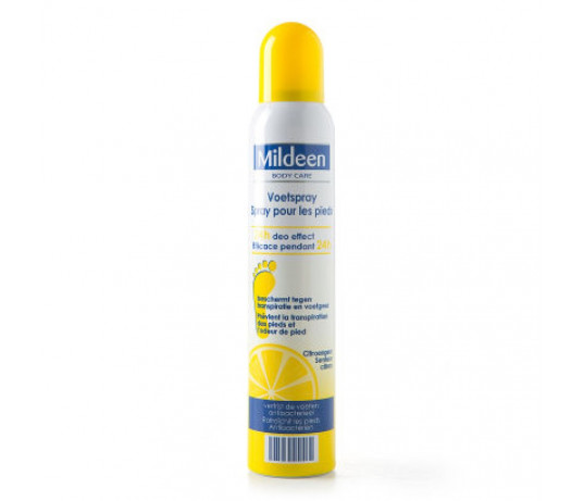 MILDEEN antibakterinis pėdų dezodorantas citrina 200 ml