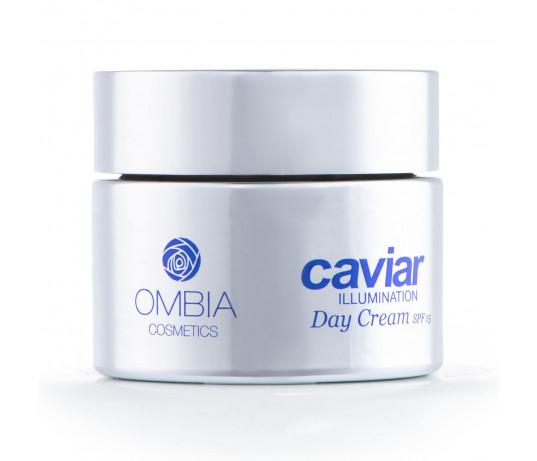 Ombia Caviar Illumination Ikrų dieninis kremas LSF15   50ml.