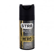 STR8 Hero purškiamas dezodorantas 150ml.