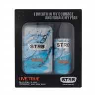 STR8 Live True EDT50ml. +purškiamas dezodorantas 150ml.