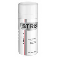 STR8 Unlimited 24h Fragrance dezodorantas 150ml.